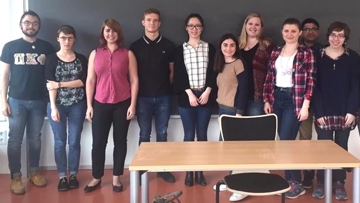 International students who have completed an intensive pre-semester German course