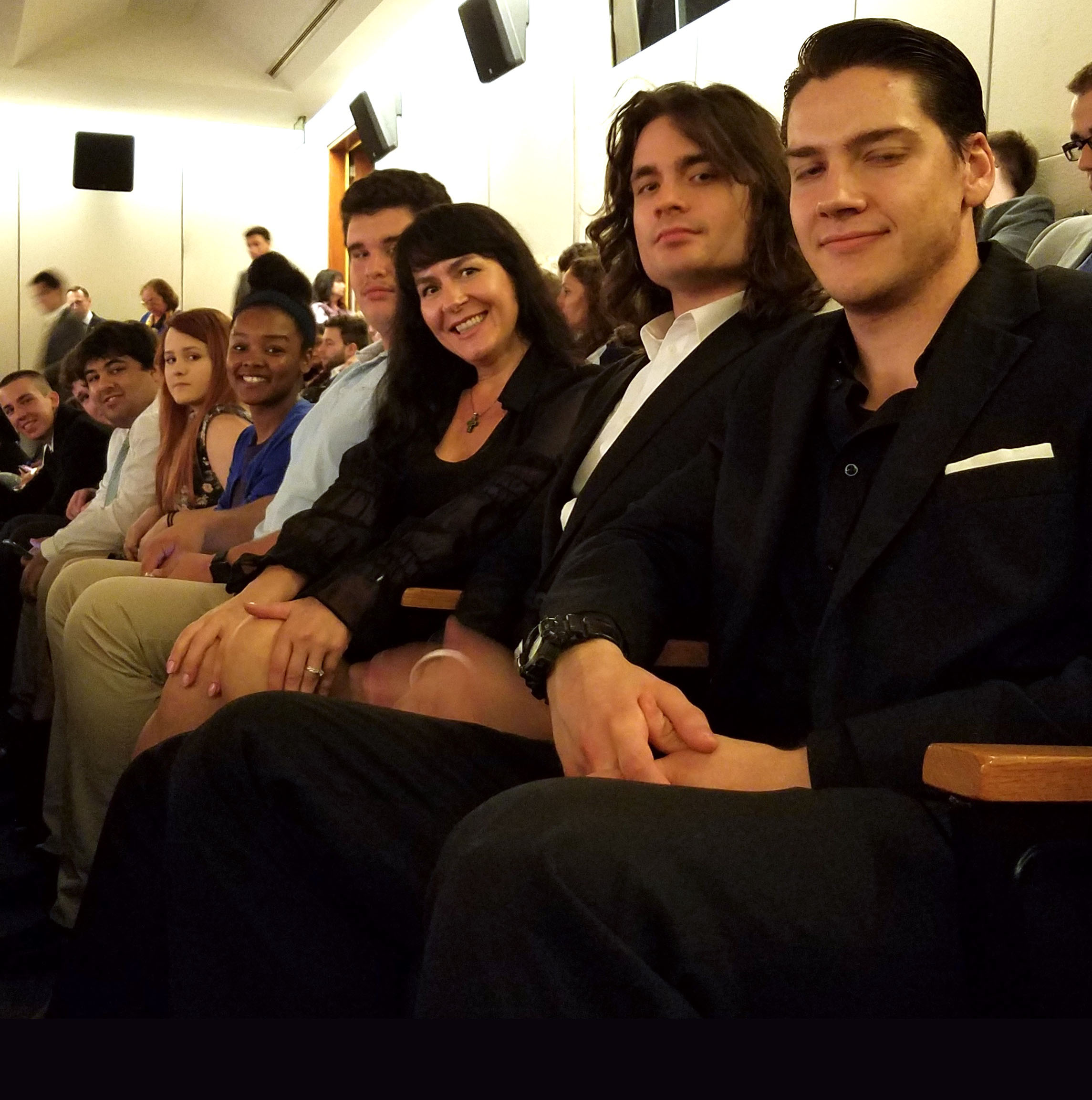 Students attend film screening at Russian Embassy