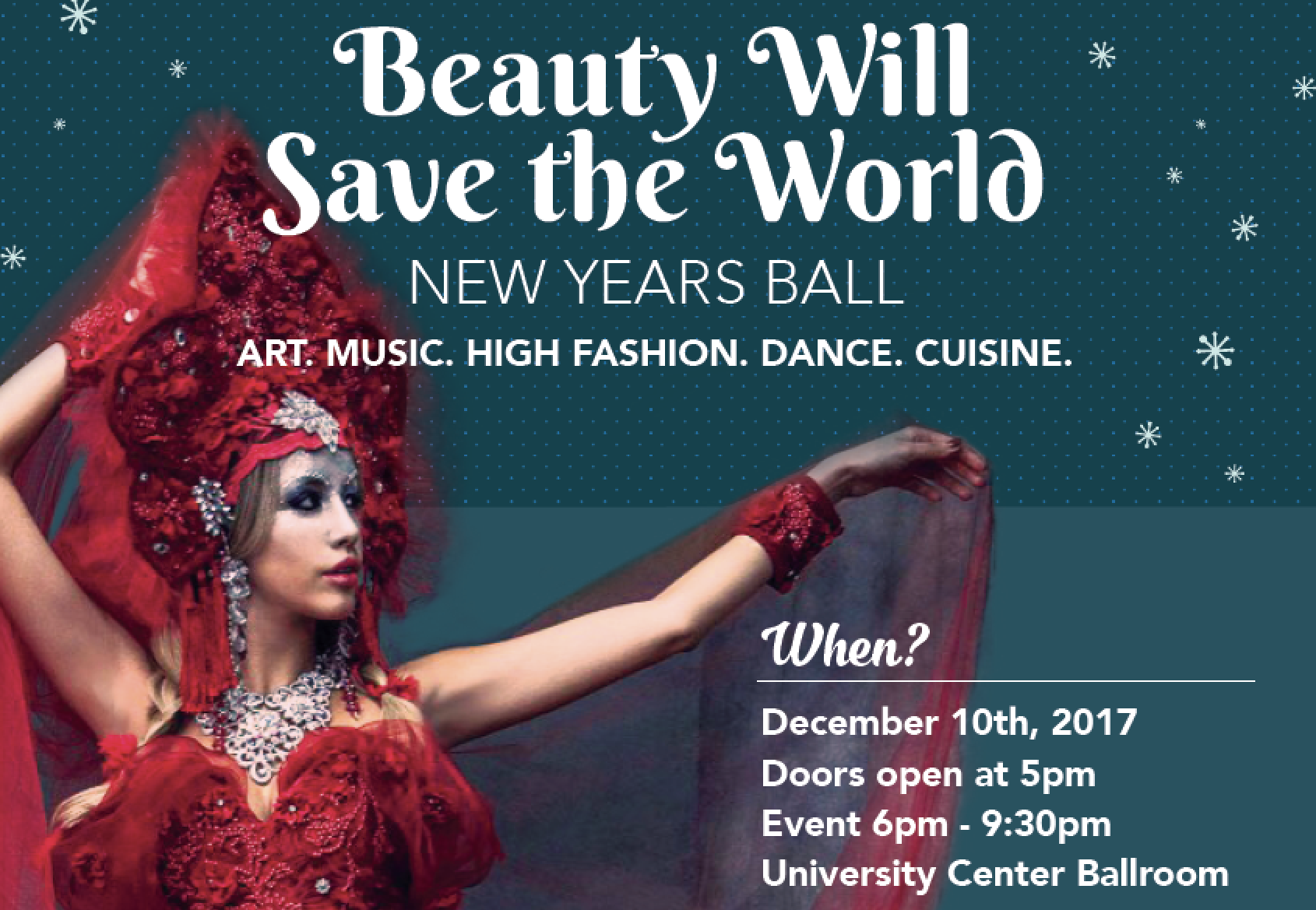 The Russian Club presents Beauty Will Save the World