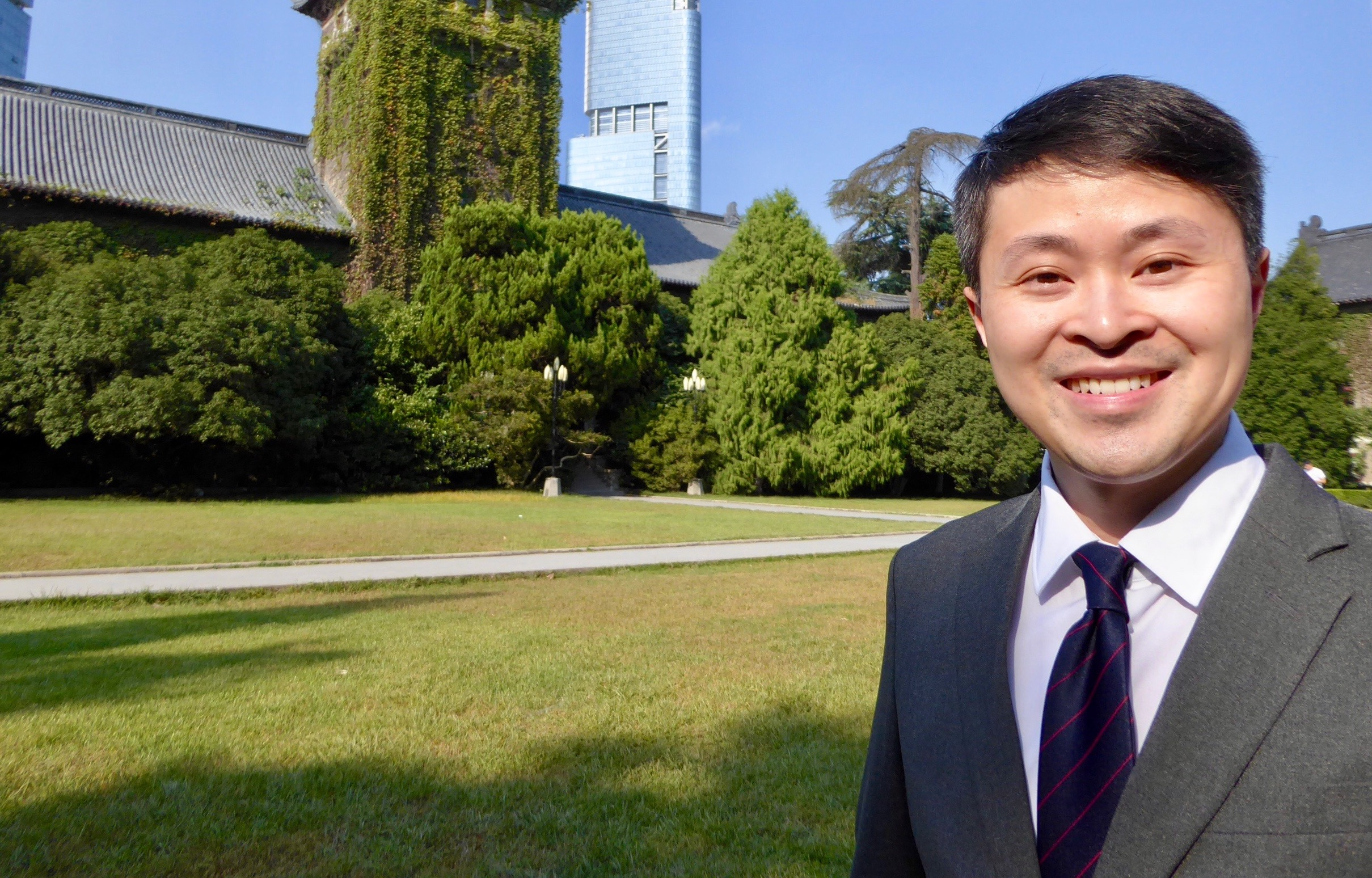 Fulbright Fellow Dr. Chris Tong, Nanjing University